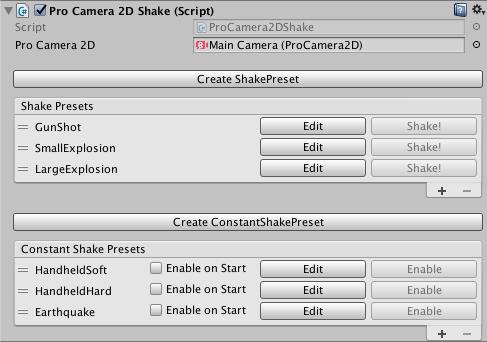 Extension - Shake - Pro Camera 2D - Unity Camera Plugin